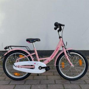 "Kinderrad PANTHER 1-Gang - 18"", pink, RH 29 cm inkl. Seitenständer"